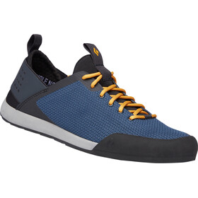 Black Diamond Session Zapatillas Hombre, eclipse blue-amber
